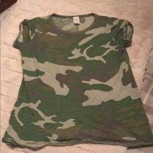 we the free by free people Camo tee